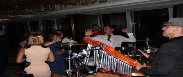 London DJ Gallery - DJ Jason Dupuy vs Jay on Drums for a Wedding at the Shard in London